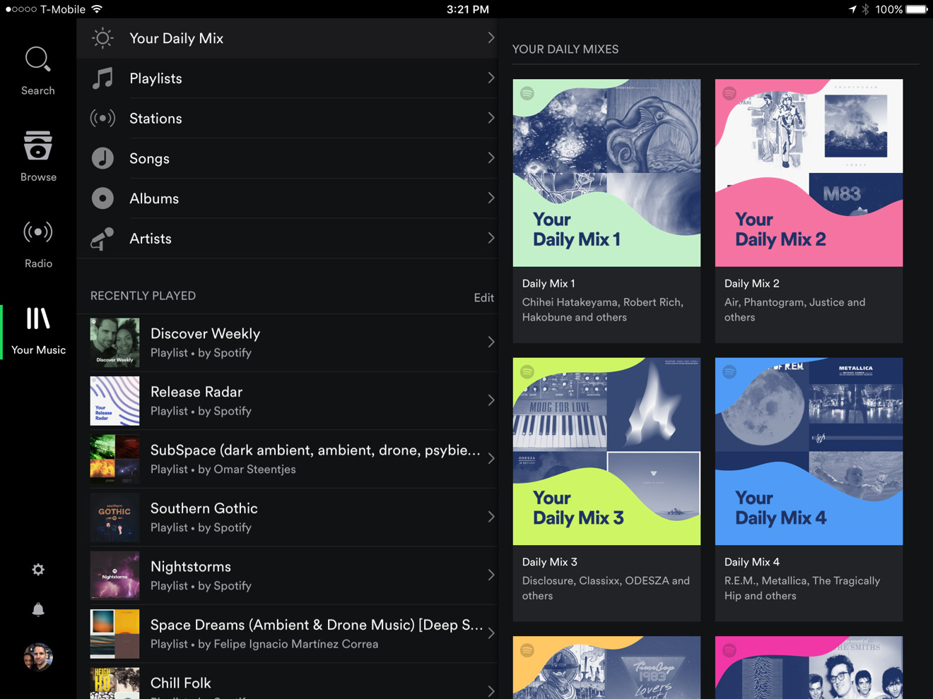 Spotify debuts 'Daily Mix' to compete with Apple Music's ...