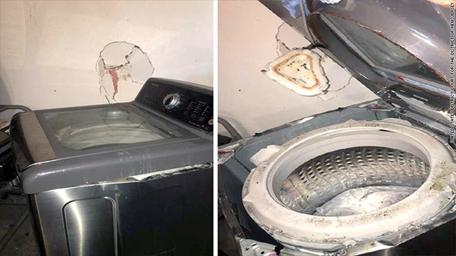 Government agency issues warning over 'exploding' Samsung washing machines