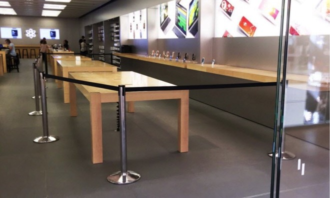 Customer rampages through French Apple Store, smashes iPhones, iMacs, MacBook Air