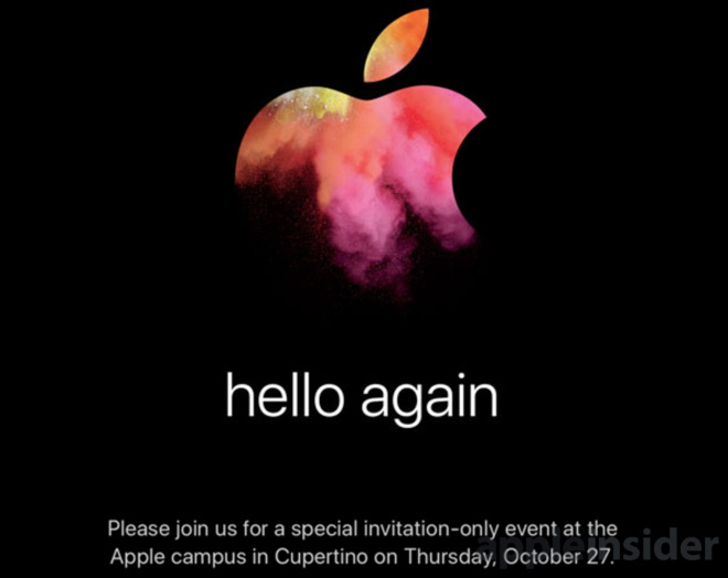 New Apple event invite recalls original Macintosh, iMac introductions