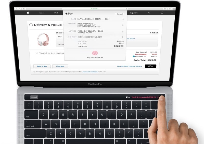 Official Apple images show new MacBook Pro with OLED 'Magic Toolbar,' Touch ID, new speaker design