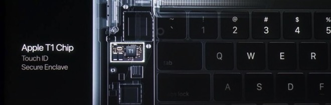 Examined: The new MacBook Pro Touch Bar and Apple's T1 authentication chip