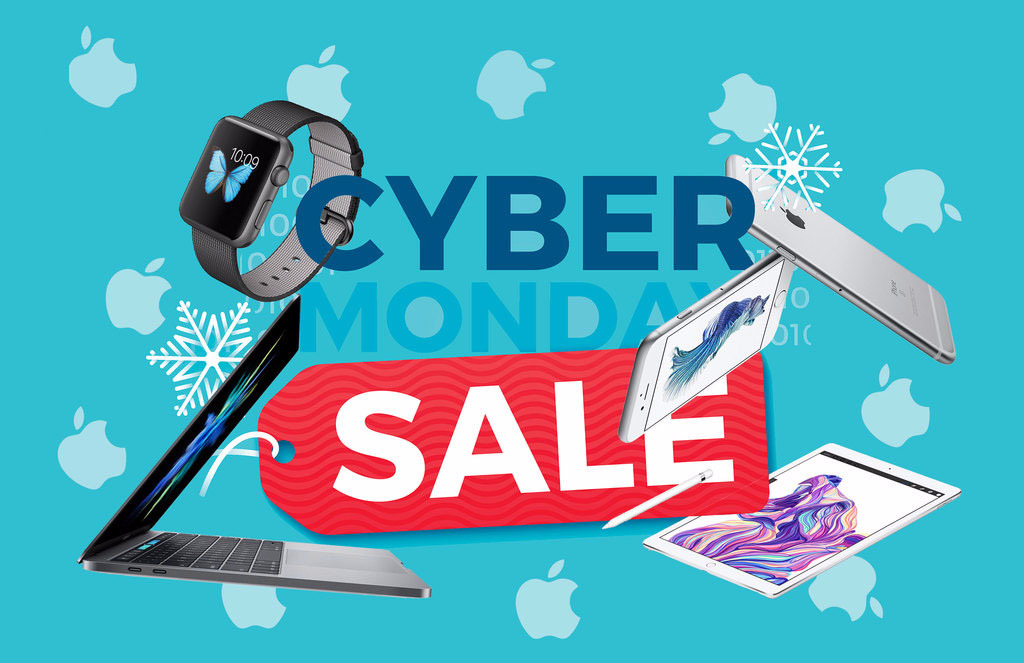 apple cyber monday roundup find the best deals lowest prices on iphone macbook ipad imac. Black Bedroom Furniture Sets. Home Design Ideas
