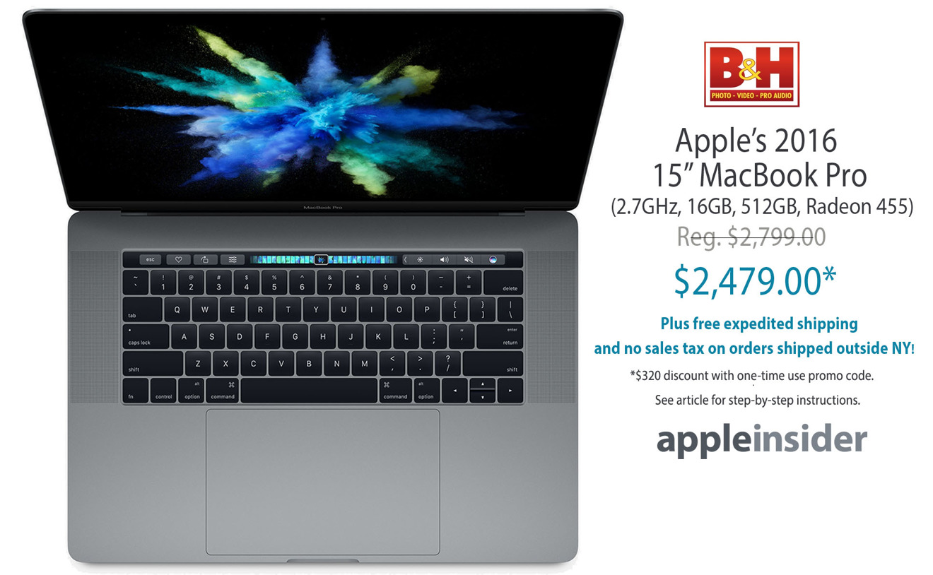 Last call! Lowest Prices Ever: Apple's high-end 2016 15