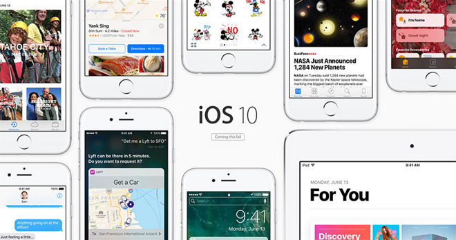 Apple to release iOS 10.3 beta with 'Theater mode' in January