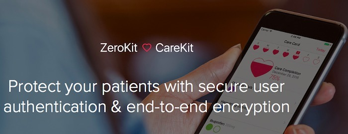 photo image Apple CareKit integrates with Tresorit ZeroKit to secure patient data in the cloud