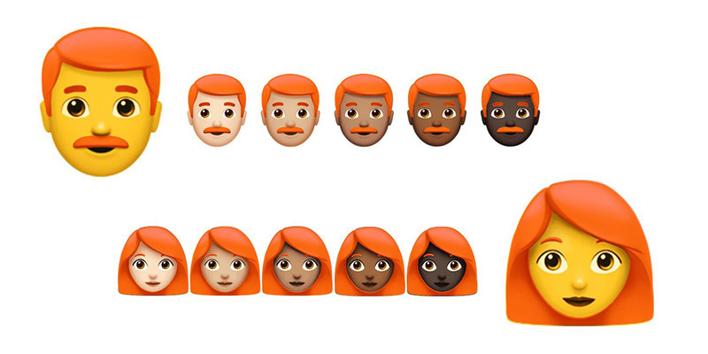 Unicode Committee to Meet at Apple Campus, Discuss Addition of Redhead Emoji