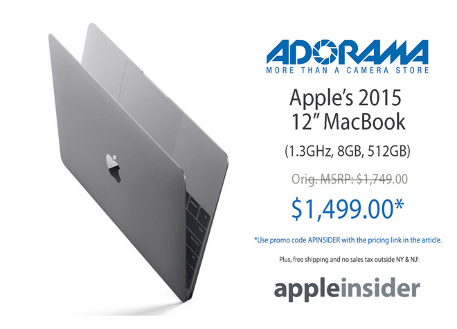 12in MacBook coupon