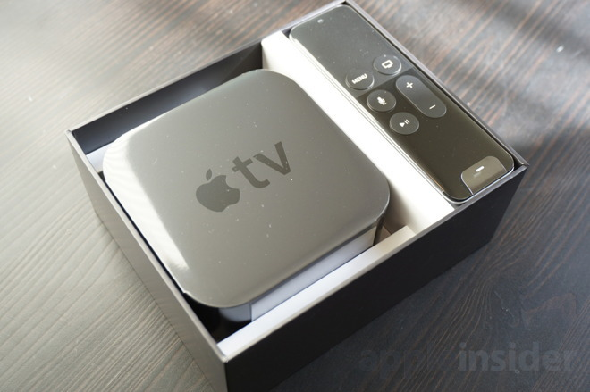 photo image Fifth generation of Apple TV bringing 4K compatibility, little else - report