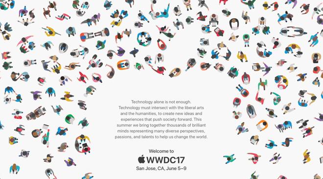 photo image Apple's WWDC 2017 art borrows design concept from 2010 Spanish film festival