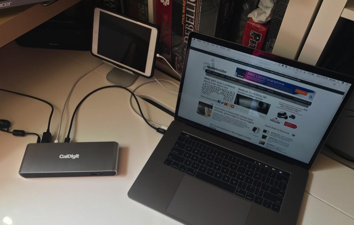 Review: CalDigit Thunderbolt 3 TS3 Lite dock for MacBook Pro