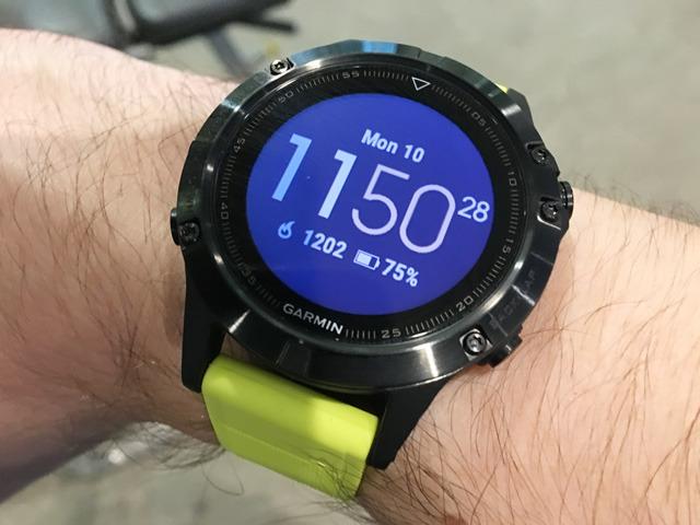Garmin's Fenix 5 smartwatch aims at athletes, not Apple ...