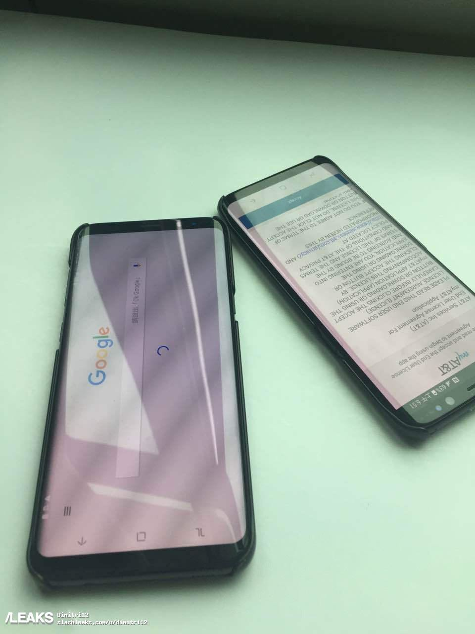 Leaks show off Samsung's Galaxy S8 & S8+ ahead of March 29 reveal