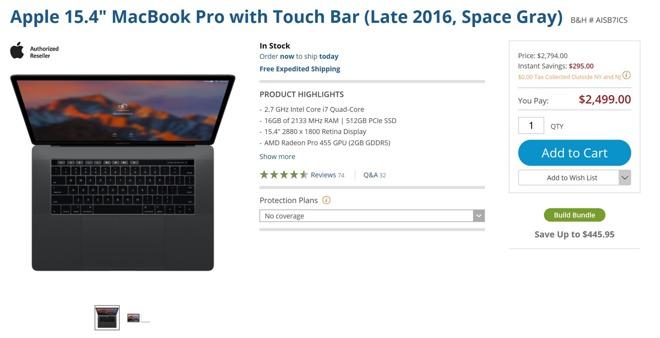 15 inch MacBook Pro Gray