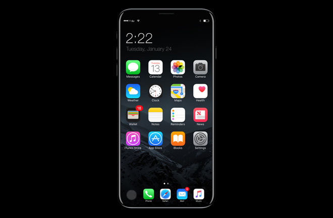 Rumor: Apple's 'iPhone 8' might not feature full-screen OLED sans home button, to launch long after September reveal