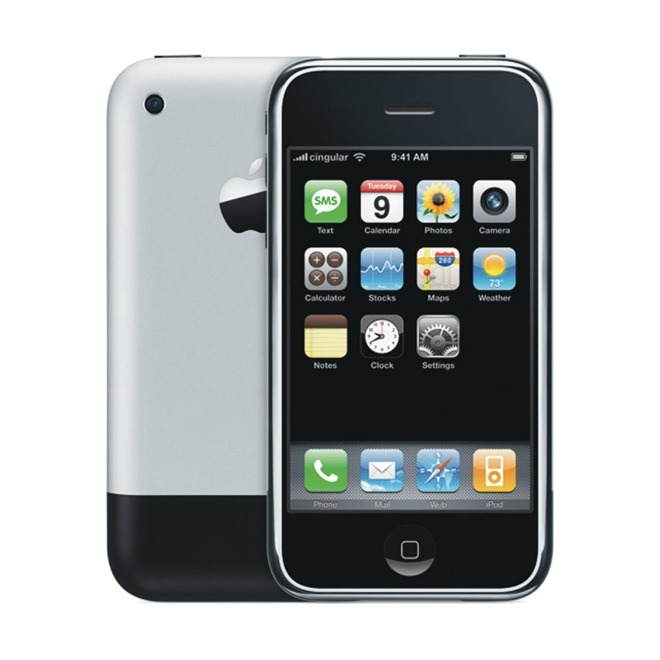 The first-generation iPhone from 2007.