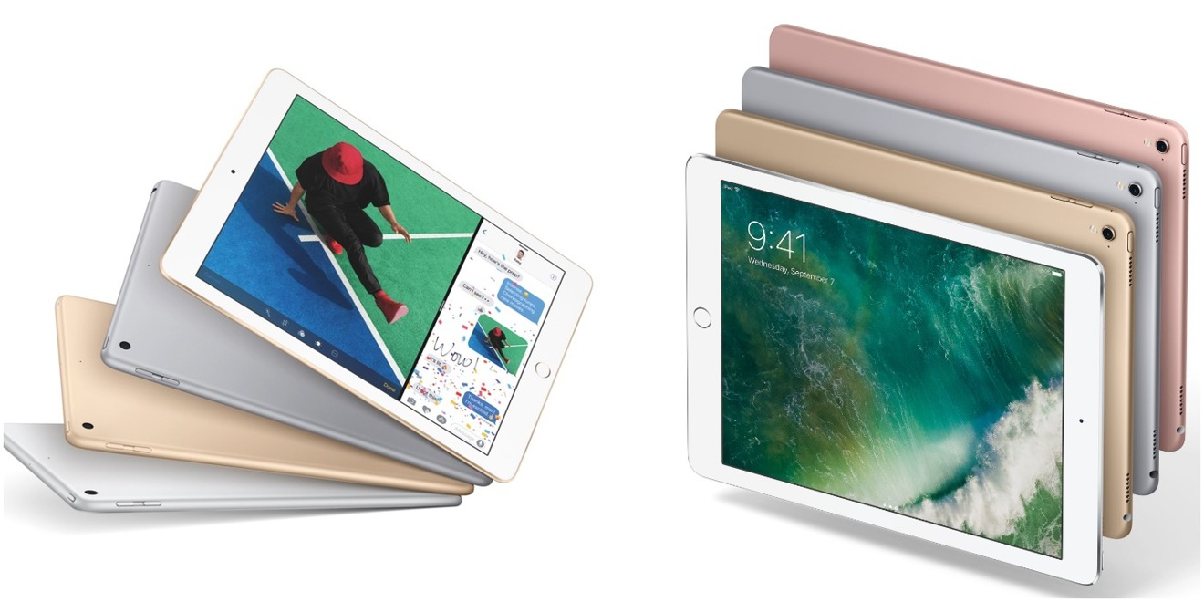 Apple's 2017 iPad vs. 2016 9.7