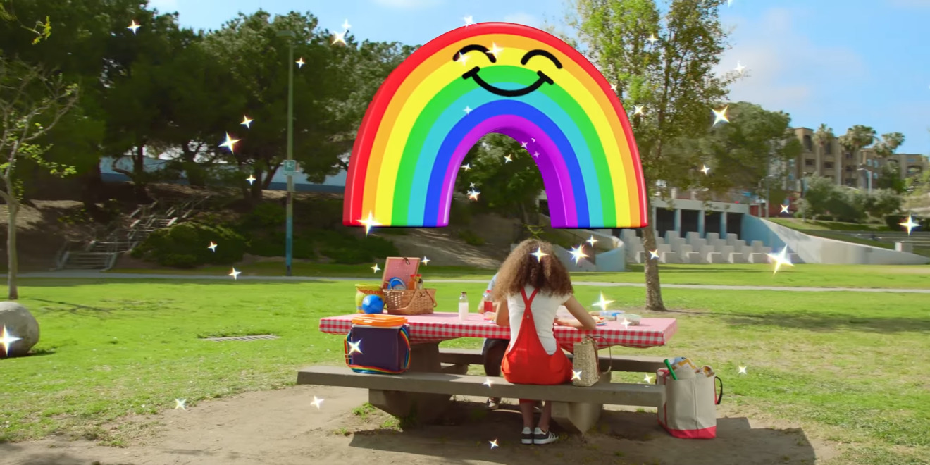 Snapchat for iPhone gains 3D, augmented reality 'World Lenses'