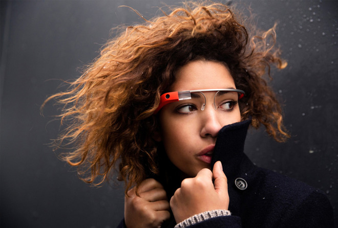 Google's early experiment with AR-like technology, Google Glass.