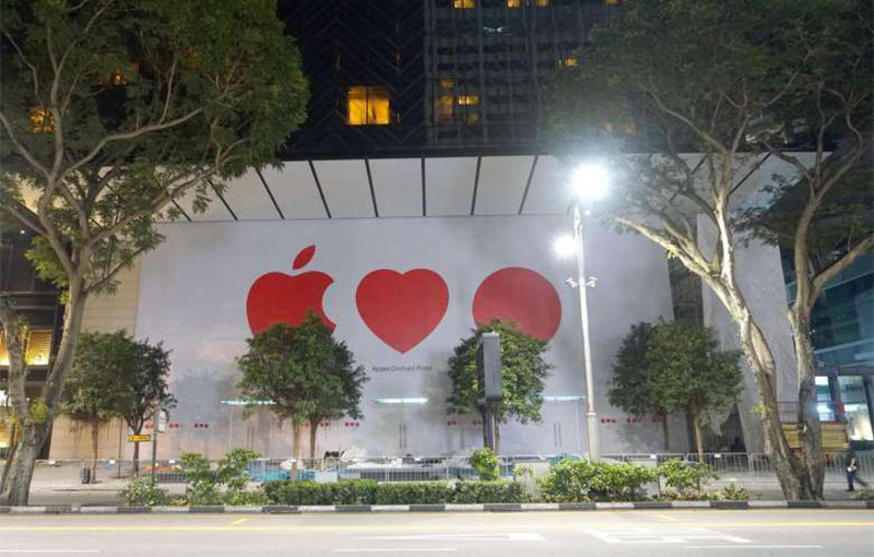 First Singapore Apple Store to open soon after long delay