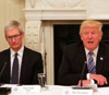 Trump talks up Apple's $350B US investment, says thanked Tim Cook by phone
