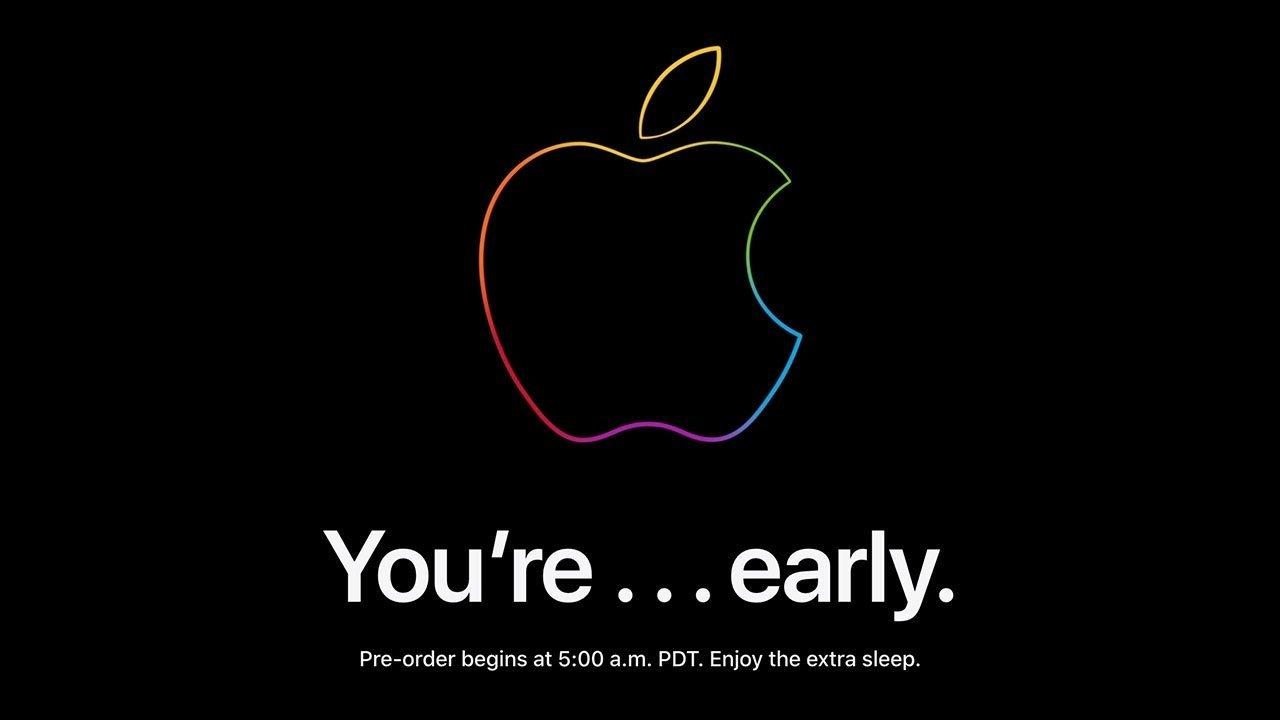 Apple Store down ahead of Apple Watch Series 7 preorders