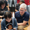 Tim Cook touches down in Singapore, visits students and game developers [u]