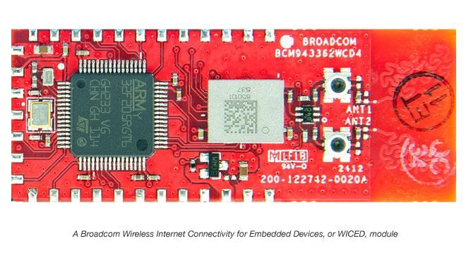 Broadcom WICED module