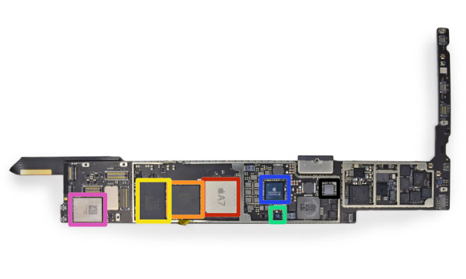 iPad Air teardown
