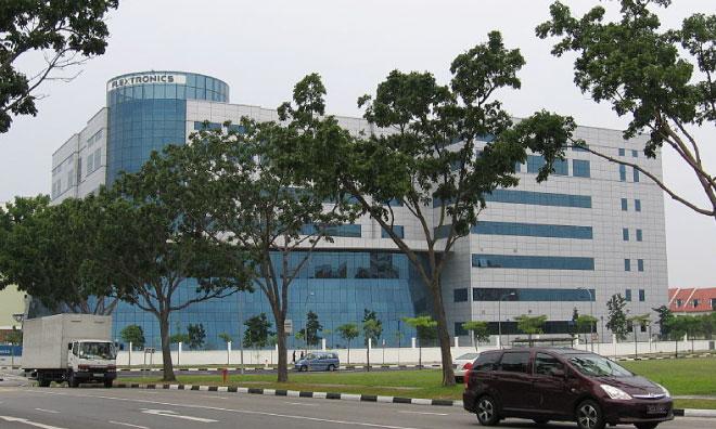 Flextronics's Singapore headquarters