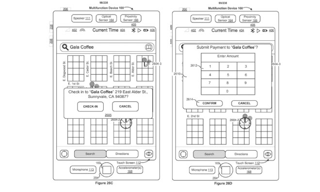 New Touch ID patent
