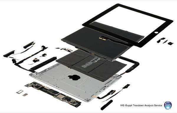 iPad exploded