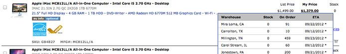iMac Inventory