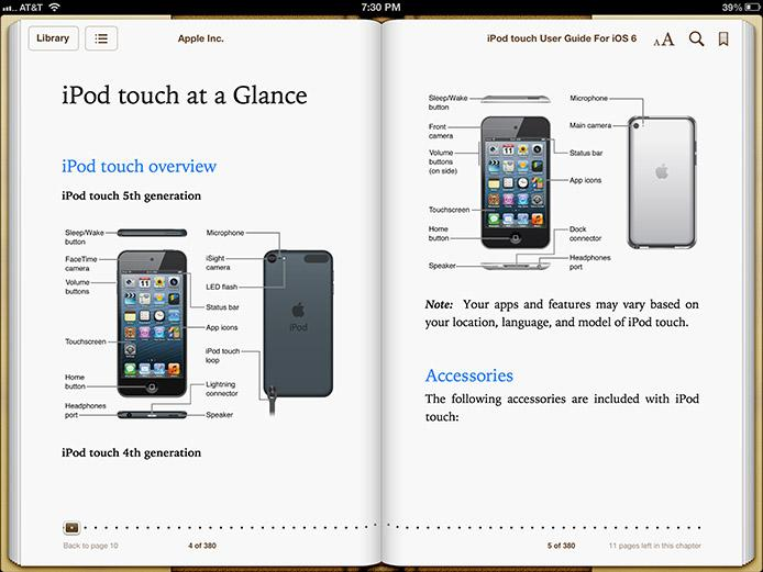iPod touch User's Guide