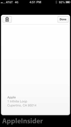 Passbook iOS 6.1
