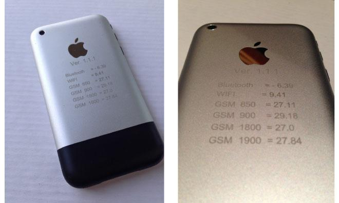 Purported Prototype Of Apple S First Gen Iphone Sells For 1500 On Ebay Appleinsider
