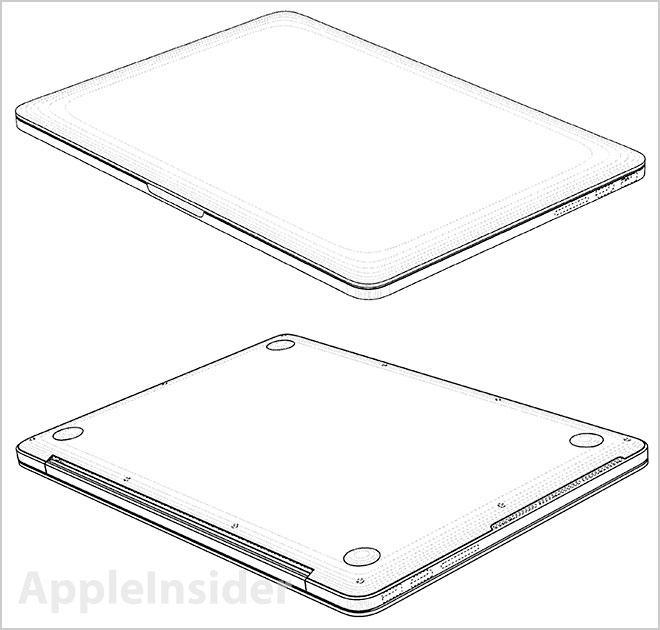 Retina MacBook Pro Top Bottom