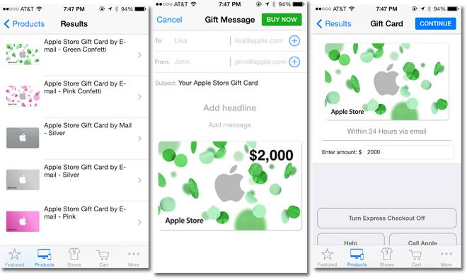 Apple Store App Now Supports International Passbook Gift Cards After Update Appleinsider