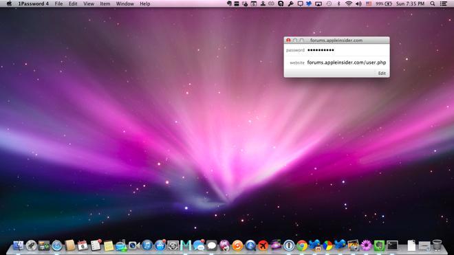 One Password Mac