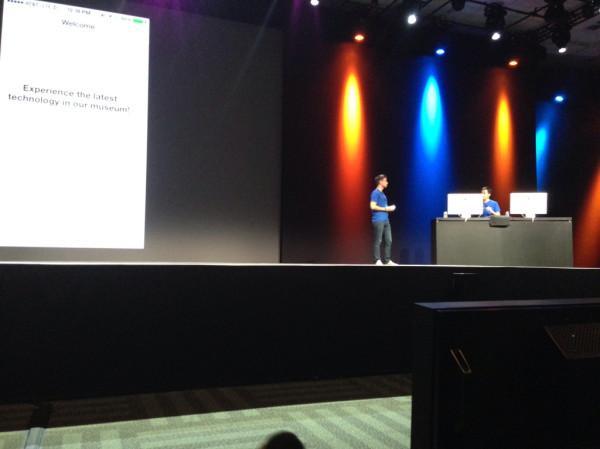 WWDC iBeacons