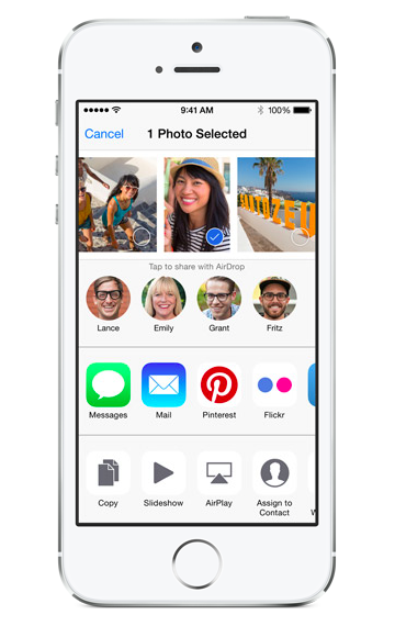 iOS 8 Share Extensions