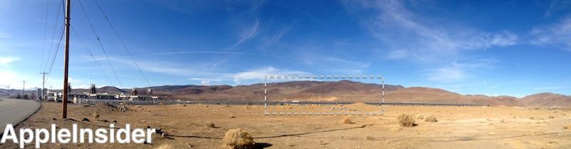 Apple Reno data center site