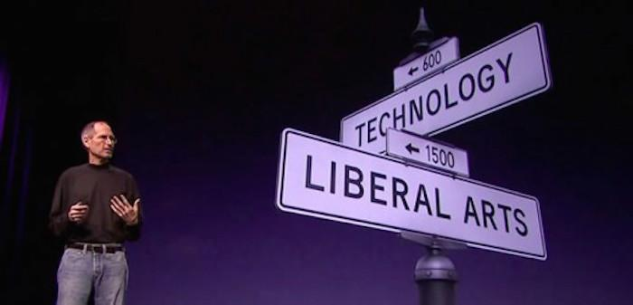 Apple Steve Jobs Tech Liberal Arts
