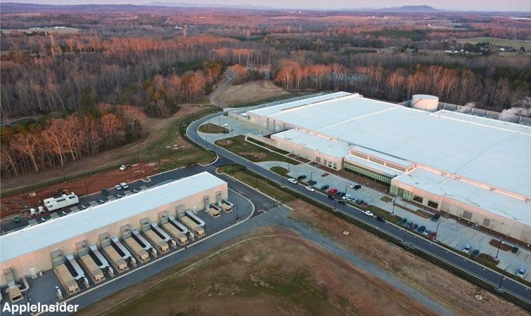 Apple Maiden NC Data Center