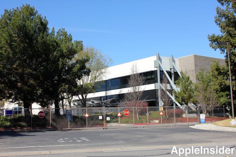 Apple Campus 2 existing buildings
