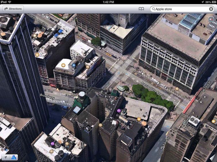 Apple Maps 3D