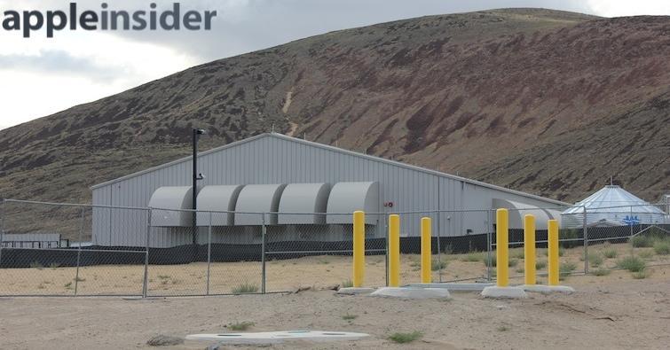 Apple Reno data center site since June