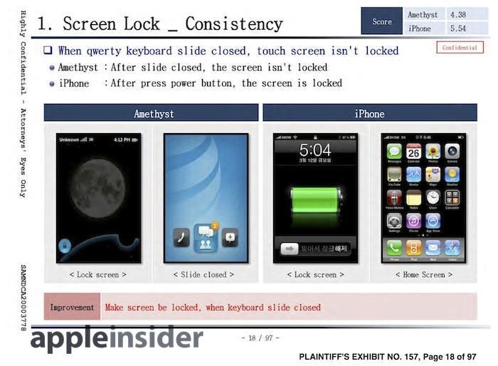 Samsung Amethyst 2010 iPhone copy doc