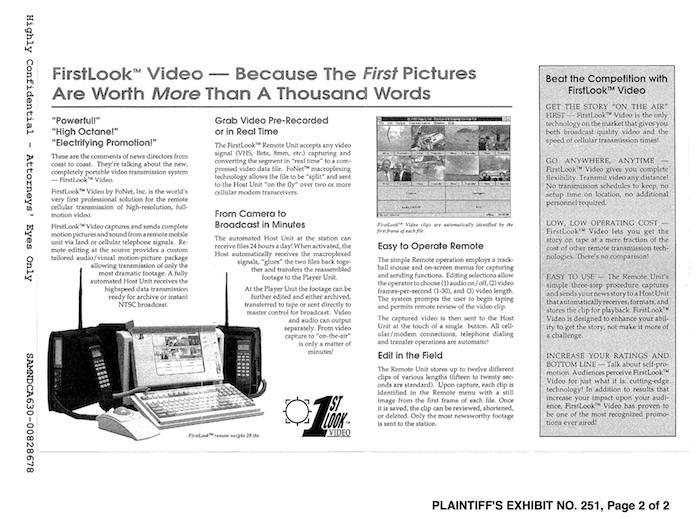 FirstLook Video vs FaceTime