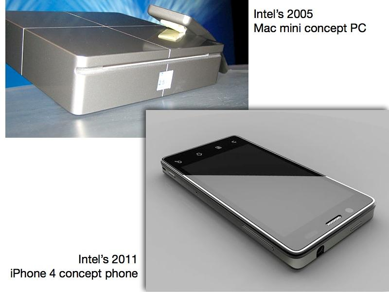 Intel rips off Apple
